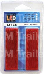 Red Reflector - Twin Pack