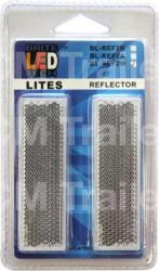 White Reflectors - Twin Pack