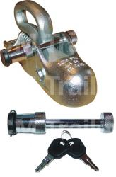 TRAILER COUPLING LOCK Chrome