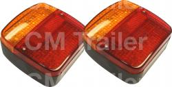 MULTI VOLT LED COMBINATION TAIL LAMPS